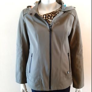 Point zero jacket  by Nicole Beristi with hoodie